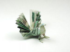 Papiroflexia-con-billetes